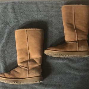 UGG Classic Tall Boots, Tan, Waterproof Shearling